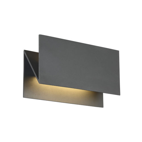 Outdoor Mount Graphite Grey 10.5-Inch LED Wall Mount