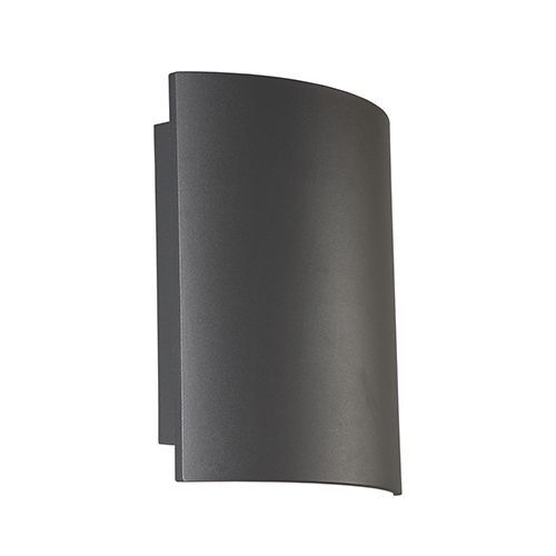 Eurofase Lighting Outdoor Mount Graphite Grey 10-Inch LED Wall Mount