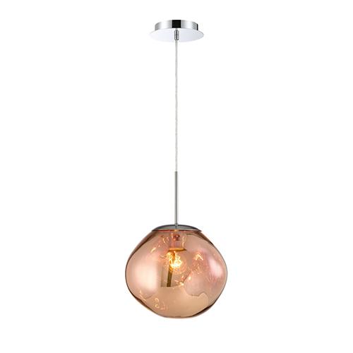 Bankwell Copper 10.5-Inch 1-Light Pendant