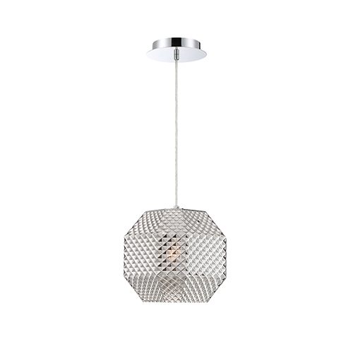 Catalda Smoke 9-Inch 1-Light Pendant