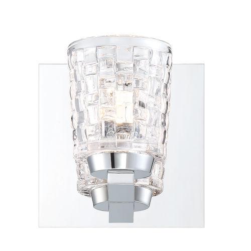Banbury Chrome One-Light LED Wall Sconce