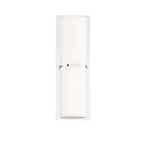 Almore Chrome One-Light LED Wall Sconce
