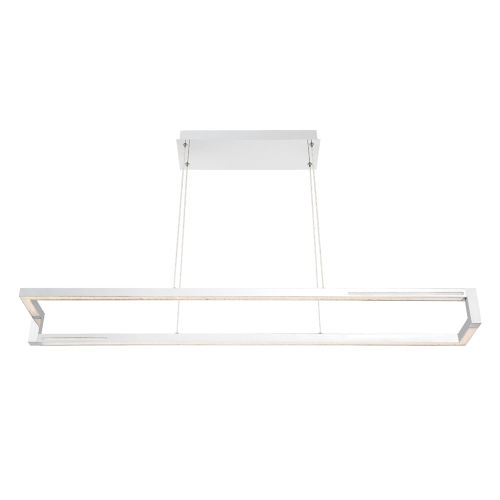 Clinton Chrome One-Light 47-Inch LED Chandelier