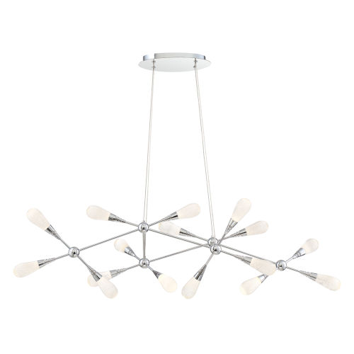 Manning Chrome 16-Light LED Chandelier