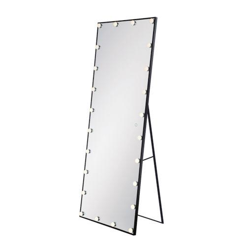 Silver 24-Light LED Mirror
