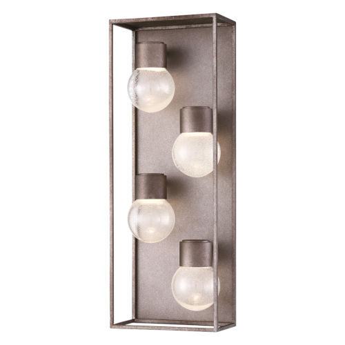 Gibson Metal Four-Light LED Outdoor Wall Sconce