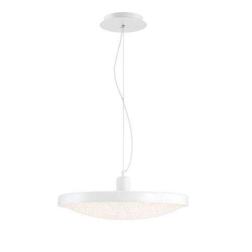 Sandstone White One-Light 19-Inch LED Pendant