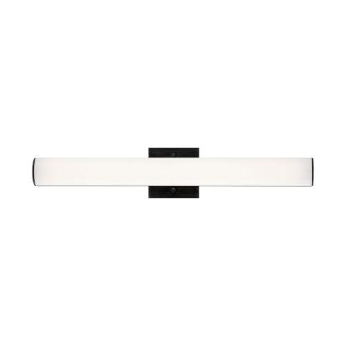 Springfiled Black 24-Inch ADA LED Bath Bar