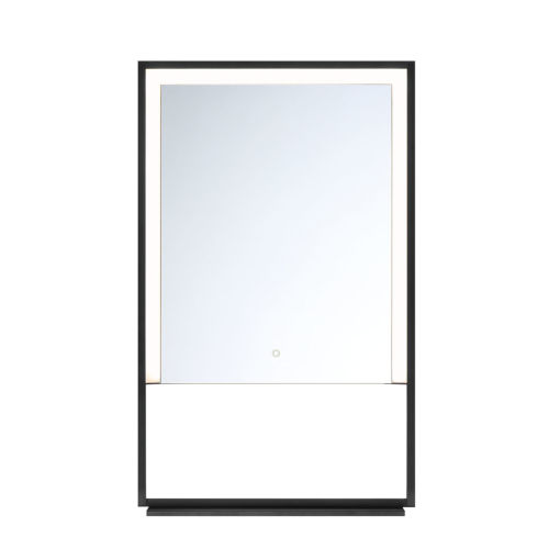Clear 20-Inch LED Wall Mirror