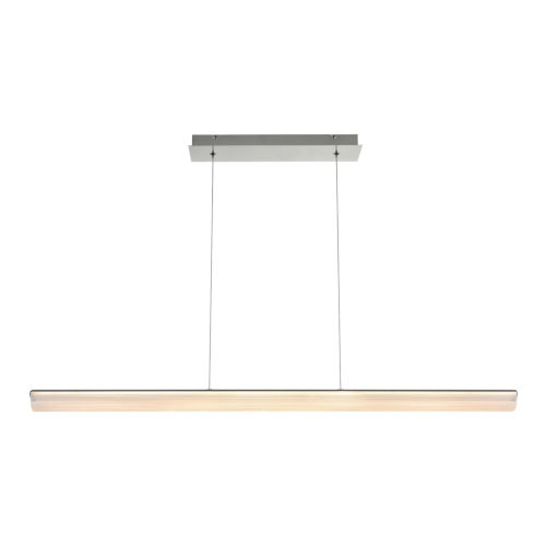Landor Chrome LED Linear Pendant