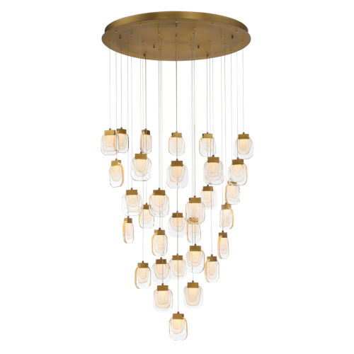 Paget Gold 31-Light LED Pendant