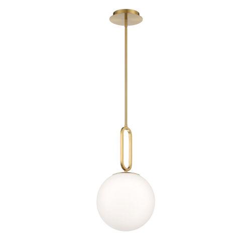 Prospect White One-Light Mini Pendant