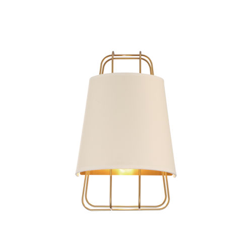 Tura Brass One-Light Wall Sconce