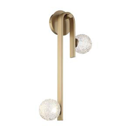 Phillimore Brushed Gold Integrated LED Wall Sconce