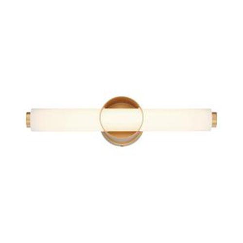 Santoro Gold Integrated LED Bath Bar