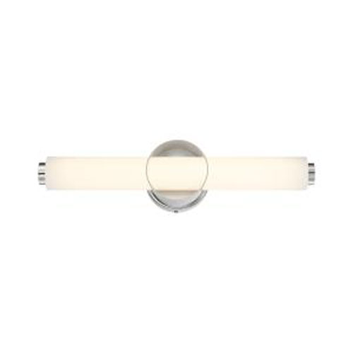 Santoro Chrome Integrated LED Bath Bar