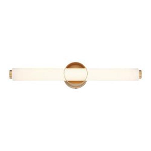 Santoro Gold 25-Inch Integrated LED Bath Bar