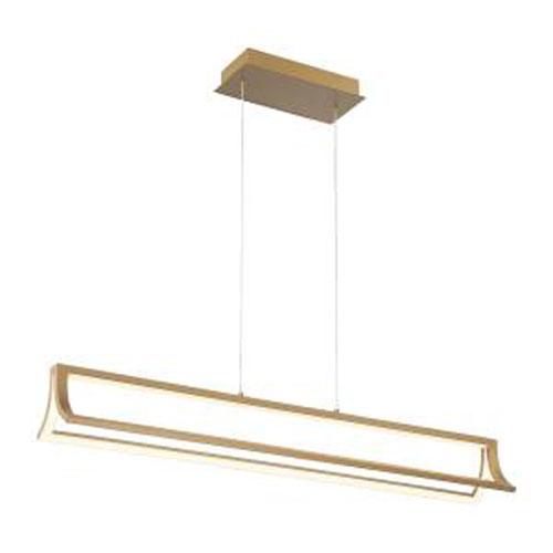 Logan Gold Integrated LED Chandelier