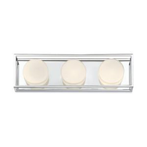 Rover Chrome 18-Inch Integrated LED Bath Vanity