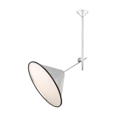 Eurofase Lighting Manera Aluminum One Light Directional Spotlight with Aluminum Shade