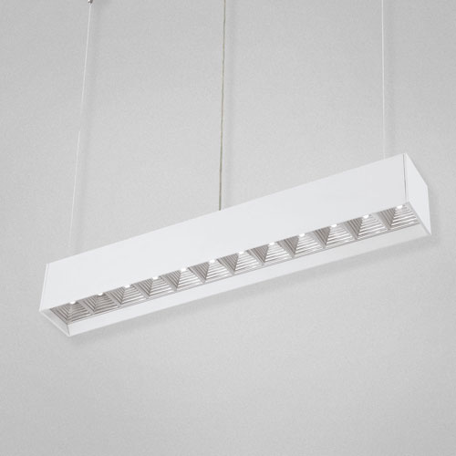 Brushed Chrome LED Pendant