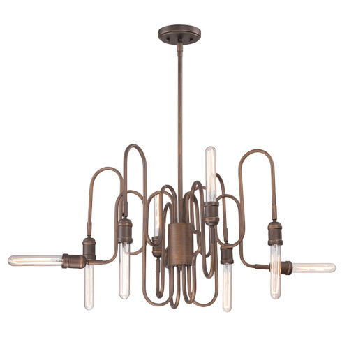 Briggs Oil Rubbed Bronze Eight-Light Chandelier