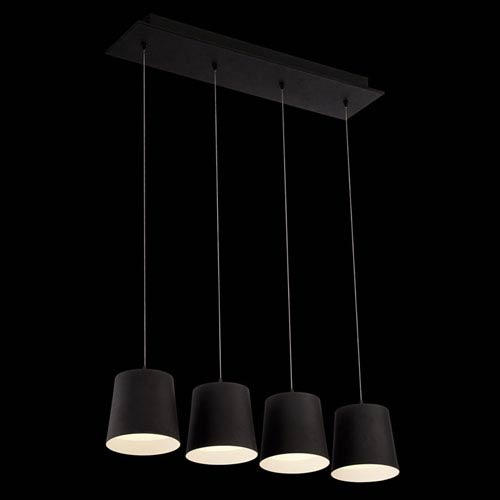 Borto Black LED Mini Pendant