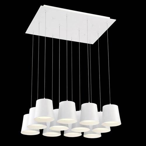 Borto White LED Mini Pendant
