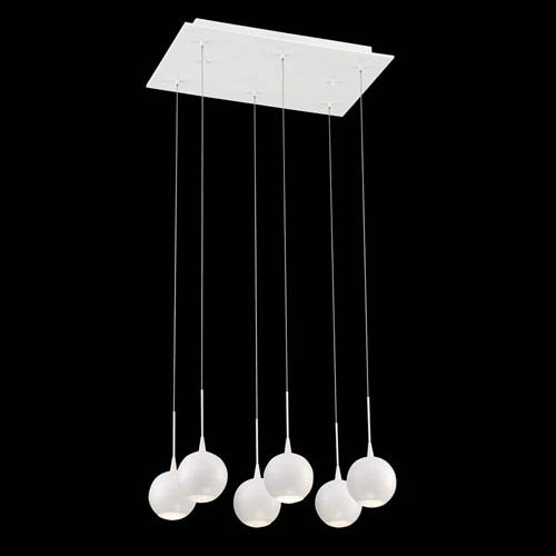 Patruno White 11-Inch LED Mini Pendant