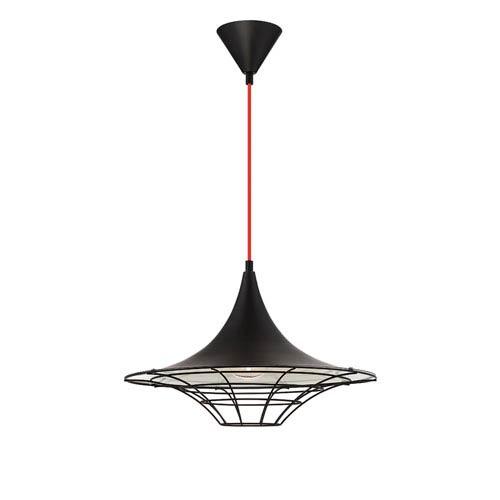 Windsor Black One-Light Pendant