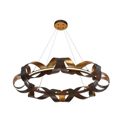 Banderia Bronze 33-Inch LED One-Light Pendant