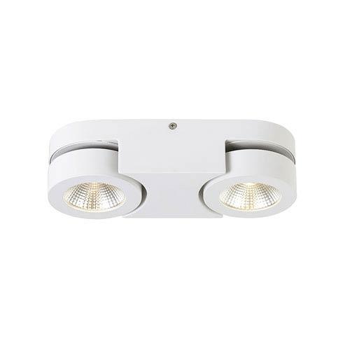 Eurofase Lighting Acura White Two-Light LED Flush Mount