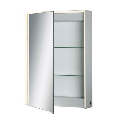 20 X 28-Inch LED Lighted Mirrored Medicine Cabinet