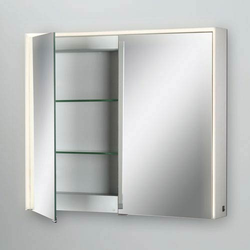 28 X 32-Inch LED Lighted Mirrored Medicine Cabinet