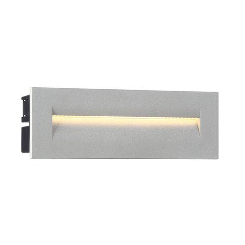 Marine Grey 10-Inch LED Outdoor In-Wall Light