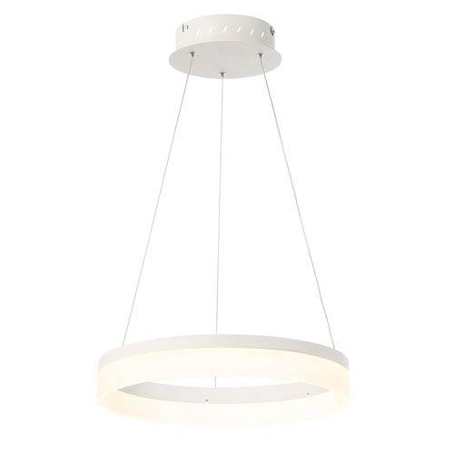 Eurofase Lighting Minuta Sand White 17-Inch LED Pendant