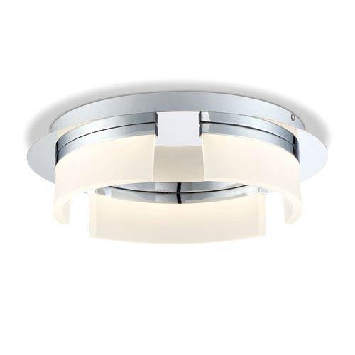 Bria Chrome 15-Inch LED Flush Mount