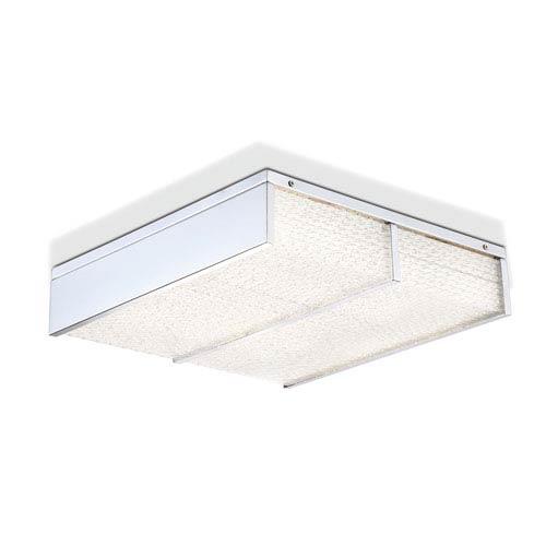 Eurofase Lighting Wynn Chrome 17-Inch LED Flush Mount