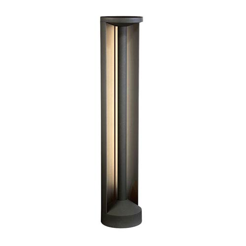Graphite 32-Inch Grey LED Outdoor Bollard