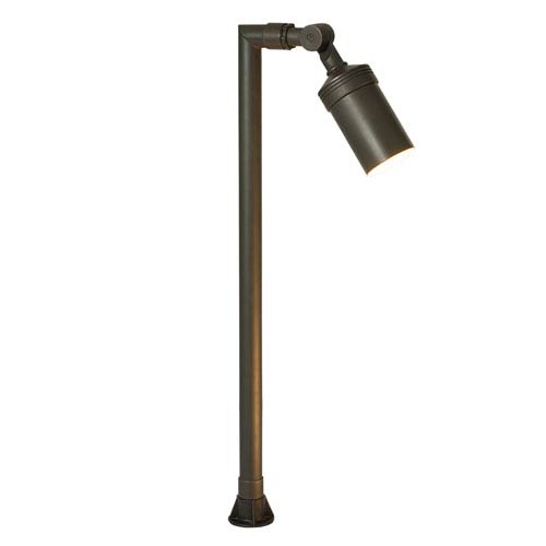 Antique Bronze Three-Light LED Outdoor Path Light