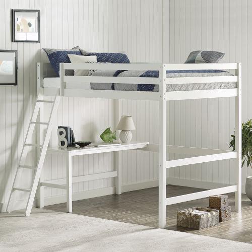 Caspian Pine and MDF Wood Loft Bed