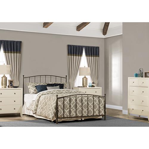 Warwick Gray Bronze Bed Set