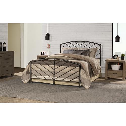 Essex Speckled Pewter Bed Set