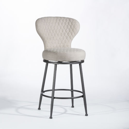 Melange Charcoal Counter Height Stool