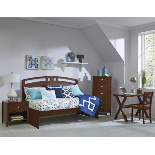 Pulse Cherry Twin Arch Daybed