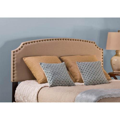 Hillsdale Furniture Lani Upholstered Headboard - Full - Cream - Headboard Frame Not Included