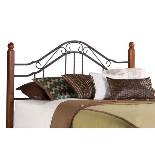 Madison Textured Black Twin Headboard Only