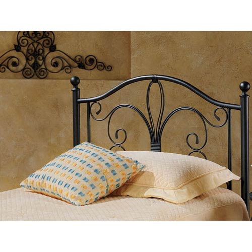 Milwaukee Antique Brown Twin Headboard Only