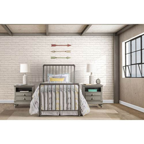 Brandi Bed Set - Twin - Bed Frame Not Included, Stone
