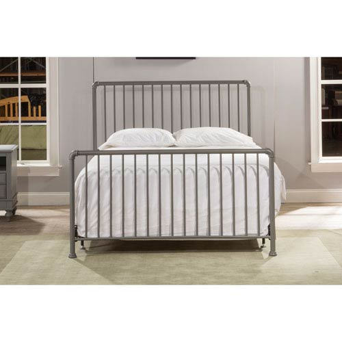Hillsdale Furniture Brandi Bed Set - Full - Bed Frame Not Included, Stone